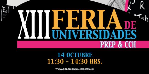 XIII Feria de Universidades